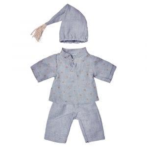 Pyjamas med stjärnor Maileg Minidjur lillastork.se