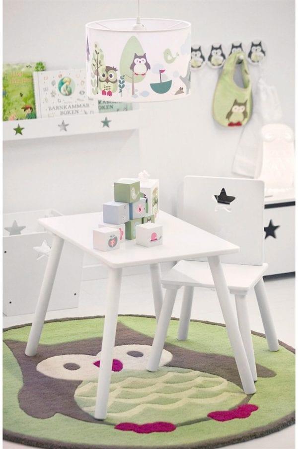 Barnmöbler Stol Kids Concept Vit