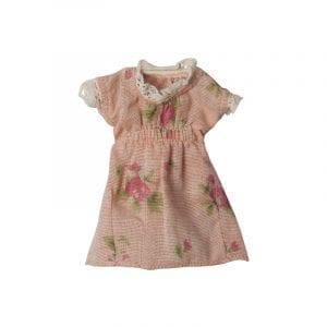 Klänning Rosa med Blommor Maileg Minidjur
