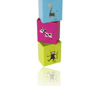 Tetrahållare med djurmotiv Lilla Stork