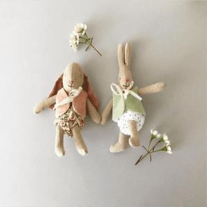 Micro Bunny Light Girl med Väst lillastork.se