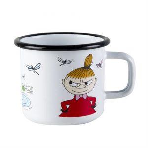Mumin Emaljmugg Lilla My – 2,5 dl Lilla Stork