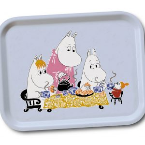 Mumin teaparty blue Lilla Stork