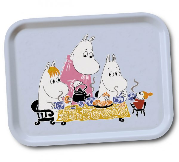 Mumin teaparty blue