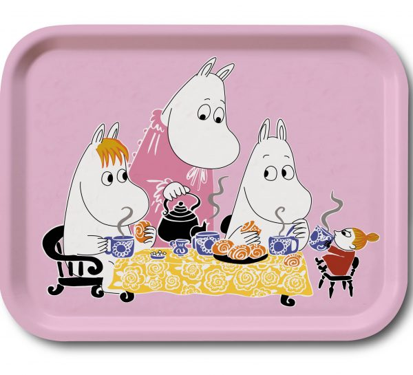 Mumin Teaparty pink
