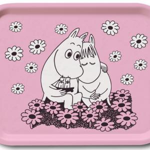 Muminbricka Rosa Love Lilla Stork