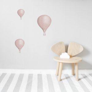 väggdekor barn Luftballonger 3-pack vaggstickers