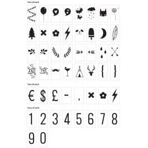 lightbox-symbols lillastork