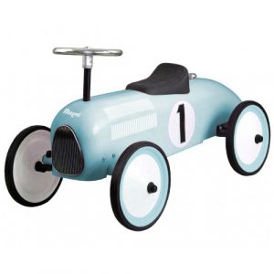Gåbil Klassisk Racermodell Mintfärgad