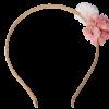 Diadem, Gulskimrande med Blomma