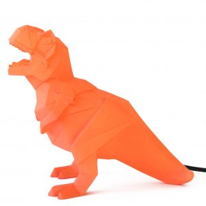 T-Rex Origami Dinosaurie Lampa