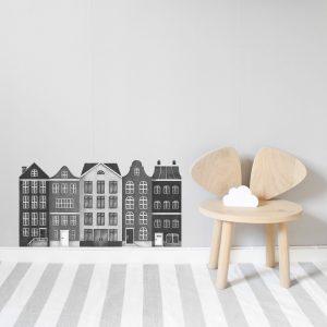 Väggdekaler från StickStay - Hus i Staden