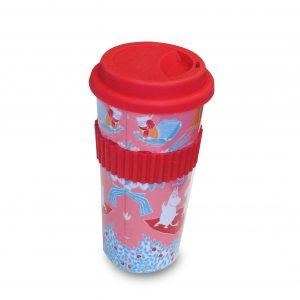 Take Away Mugg, Mumin Retro Rosa