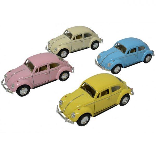 Klassisk VW Bubbla i Pastellfärger