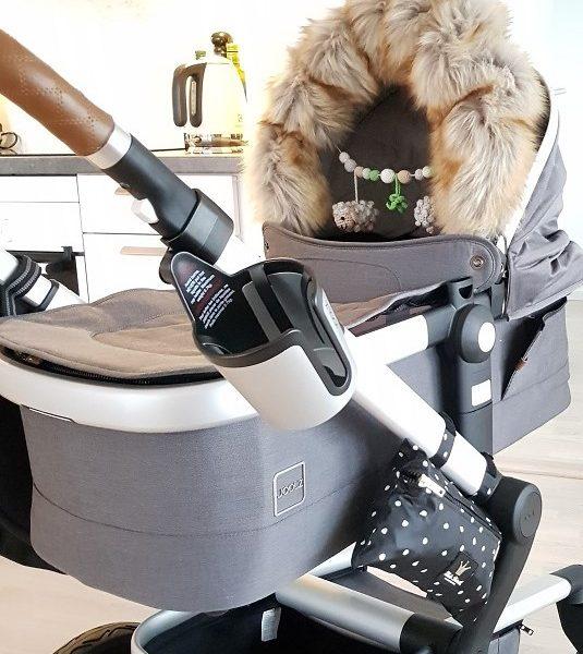Fuskpälskrage till barnvagnen Lilla Stork