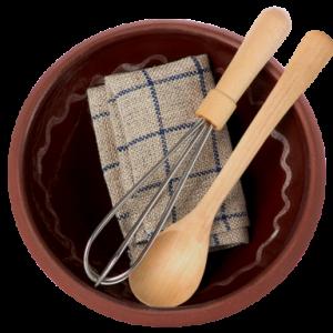 Bakset med skål och tillbehör Maileg