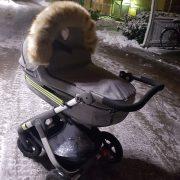 Vagnpäls michaela Lilla Stork (2)