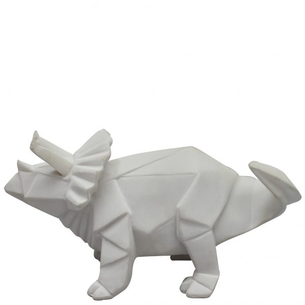 Dinosaurielampa Origami - Triceratops LED
