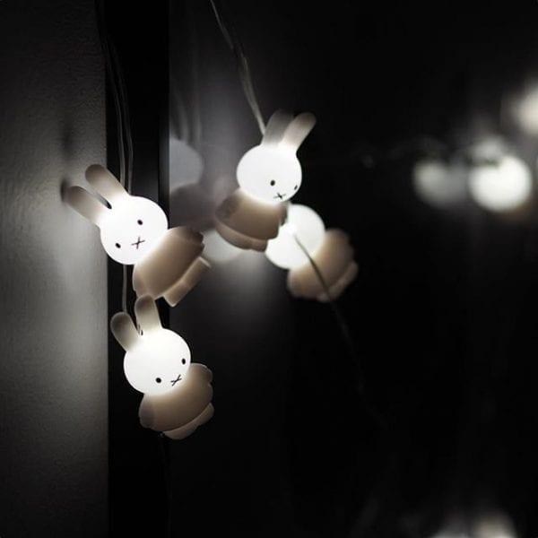 Miffy Ljusslinga, Vit LED lillastork