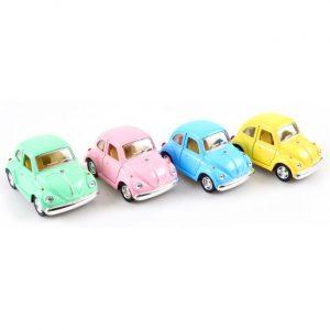 Klassisk VW Bubbla i Pastellfärger Liten