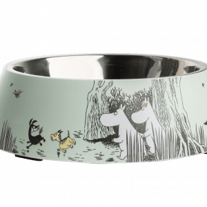 Mumin Husdjur Matskål Grön XL