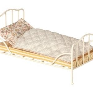 Maileg Säng Vintage Mini lilla stork