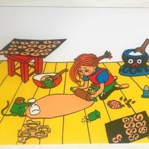 Bordsunderlägg Pippi Bakar