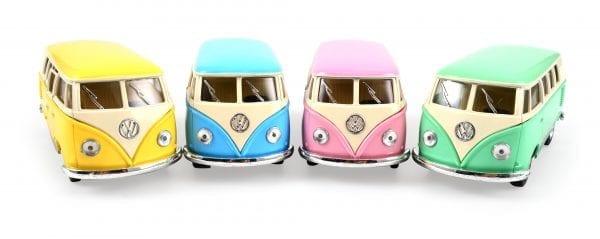 Klassisk VW Buss, 1962 i Pastellfärger