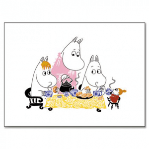 Mumin Bordsunderlägg Teaparty