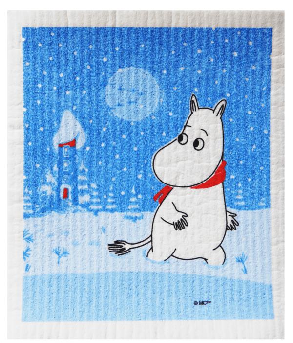 Mumin Disktrasa Snöfall