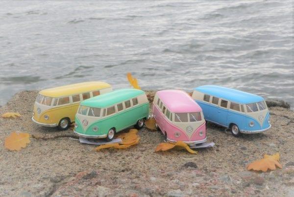 Klassisk VW buss, 1962 www.lillastork.se