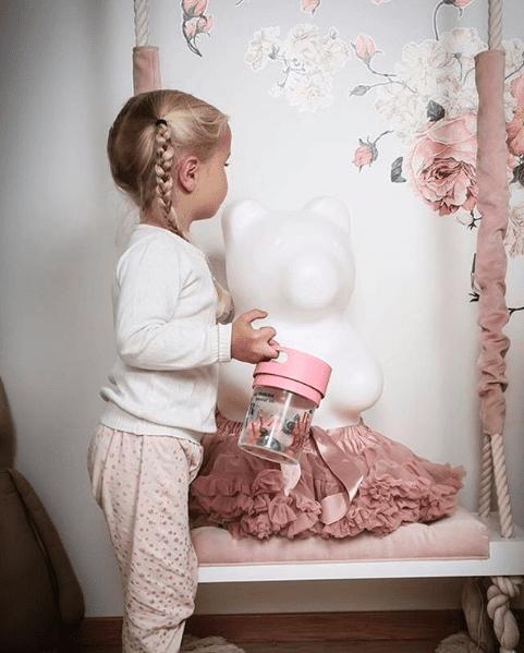 Spillfri Snacksbehållare - Munchie Mug lillastork.se