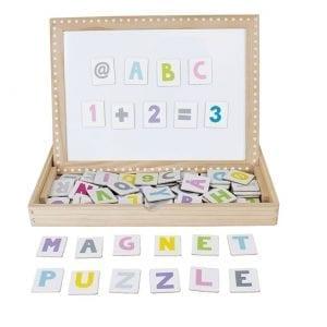 Magnetplatta ABC
