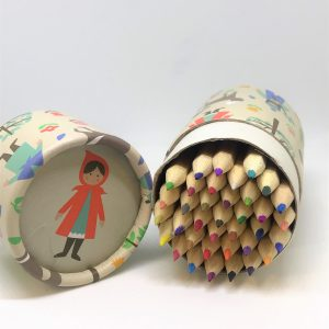 36 pennor i färg