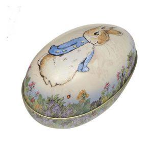 Påskägg i plåt Peter Rabbit