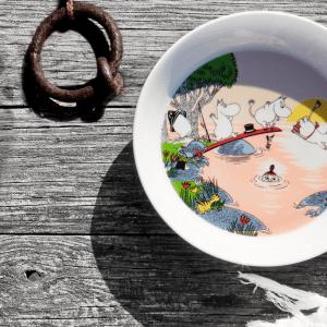 Arabia Mumintallrik – Kvällsdopp