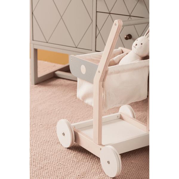 Kundvagn i trä, Kids Concept