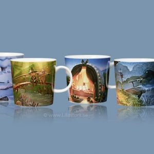Arabia Muminmuggar – Moominvalley – 4-pack www.lillastork.se