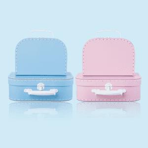 Sött väskset 2pack pastellfärger rosa blå lillastork.se