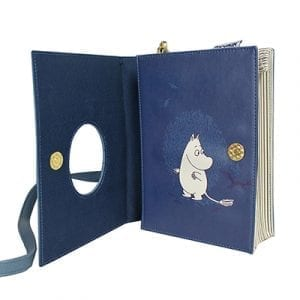 Mumin Axelremsväska Book Bag Blå