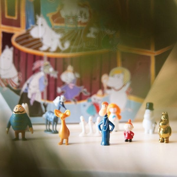 Mumin Adventskalender med leksaker 2019
