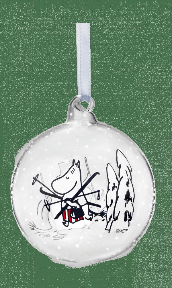 Mumin Julkula Winter Time Mamman Lilla Stork