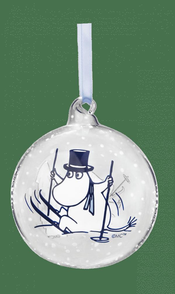 Mumin Julkula Winter Time Pappan Lillav Stork