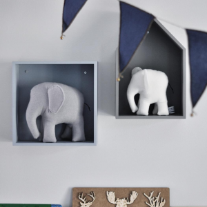 Gosedjur Handsydd Elefant