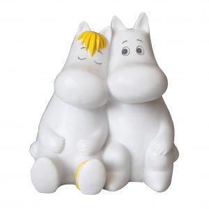 Mumin och Snorkfröken Bordslampa Kärlek