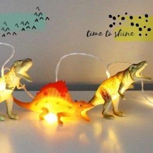 Ljusslinga Dinosaurier Natur