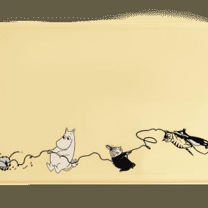 Mumin Husdjur, Underlägg i Silikon - Gul