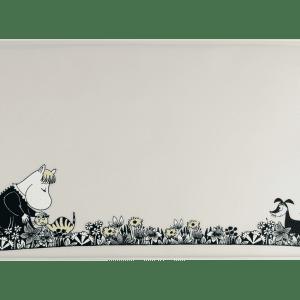Mumin Husdjur, Underlägg i Silikon - Grå